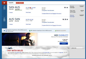 San Diego to Dallas Flight Book