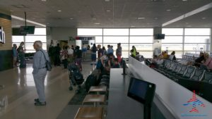 gate agent tells the number one medallion on UG list to wait to board delta