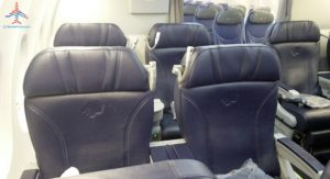 AeroMexico Skyteam 737-800 business class seat review and dinner RenesPoints travel blog (5)