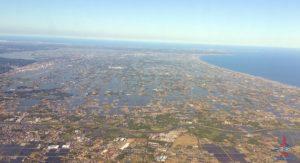Delta Air Line 747 Delta One business class seat flight review NRT Japan to DTW Detroit RenesPoints blog (15)