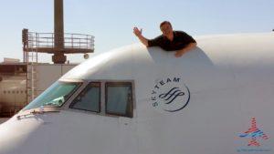 Delta Air Line 747 Delta One business class seat flight review NRT Japan to DTW Detroit RenesPoints blog (27)