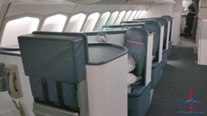 Delta Air Line 747 Delta One business class seat flight review NRT Japan to DTW Detroit RenesPoints blog (3)