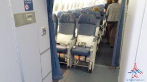Delta Air Line 747 Delta One business class seat flight review NRT Japan to DTW Detroit RenesPoints blog (9)