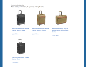 Delta million miler gift choices from Delta - com RenesPoints blog choice (3)