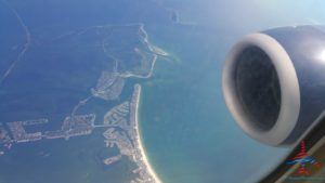 Florida coast in the air RenesPoints Travel Blog