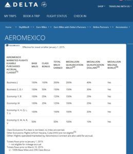 areomexico earning on delta