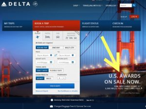 delta brags about cheap awards