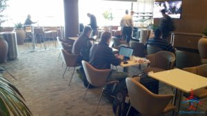 Minneapolis MSP Delta Sky Club C gates RenesPoints Blog Review (15)