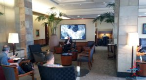 The Delta Sky Club -- former Northwest WorldClub -- in the C concourse at MSP airport.