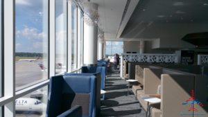 New Delta Sky Club ATL Atlanta Airport B concorse RenesPoints blog reveiw (15)