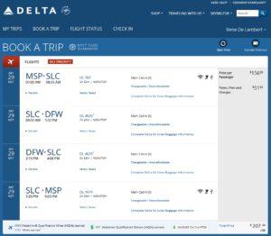 delta-com one day coach run msp