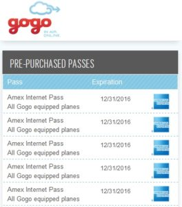 gogo passes good on INT flights