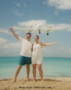 rene-lisa-st-martin-airport-beach-delta-points-blog