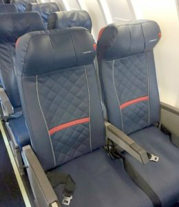 Confirmed Delta Is Testing Installed Comfort Seats On Crj200s