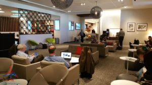 The hidden AMEX Centurion Lounge - The Centurion Lounge is located in Terminal D and is accessible via the elevator located in the Duty Free Shop near gate D6 - RenesPoints blog review (14)