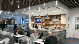 The hidden AMEX Centurion Lounge - The Centurion Lounge is located in Terminal D and is accessible via the elevator located in the Duty Free Shop near gate D6 - RenesPoints blog review (20)