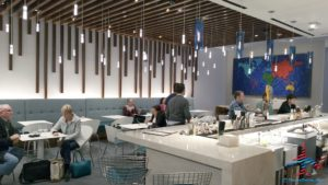 The hidden AMEX Centurion Lounge - The Centurion Lounge is located in Terminal D and is accessible via the elevator located in the Duty Free Shop near gate D6 - RenesPoints blog review (21)