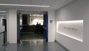 The hidden AMEX Centurion Lounge - The Centurion Lounge is located in Terminal D and is accessible via the elevator located in the Duty Free Shop near gate D6 - RenesPoints blog review (9)