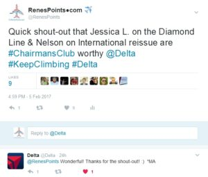 my tweet about great delta reps