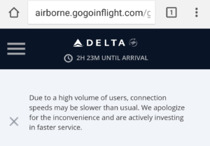 Gogo warns slow day wifi never seen this RenesPoints blog