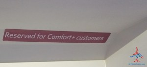 even crj200s with comfort plus will have this sticker in overhead bin renespoints blog