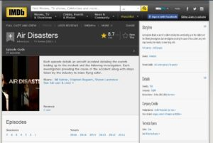 imdb air disaters web site review