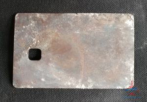 the metal inside a chase sapphire reserve card with a hole renespoints blog