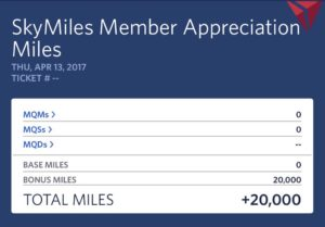 20000 skymiles for april 2017 weather issues delta air lines