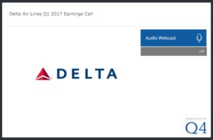 Q1-17 delta earnings call