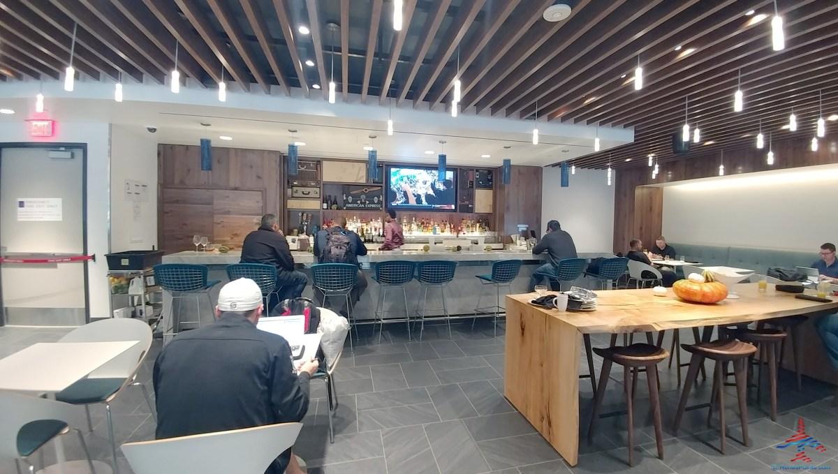 Dallas DFW Airport American Express Amex Centurion Lounge
