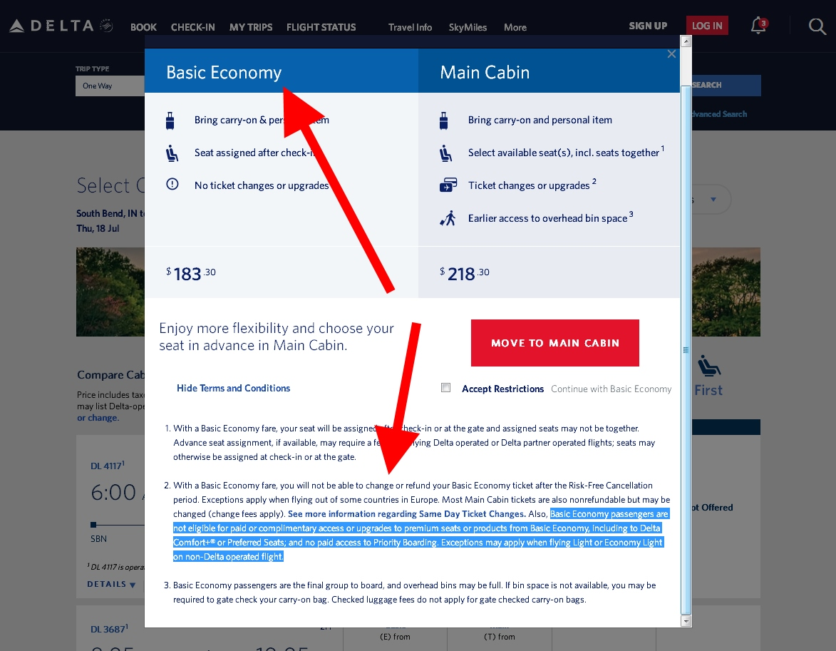 Delta Passenger with NO Medallion Status on Basic Economy Ticket Upgraded to 1st class!