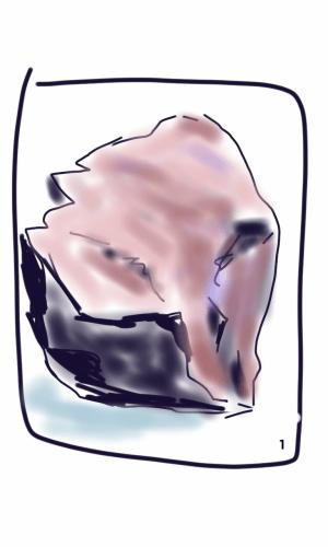 Rocks Sketch 1