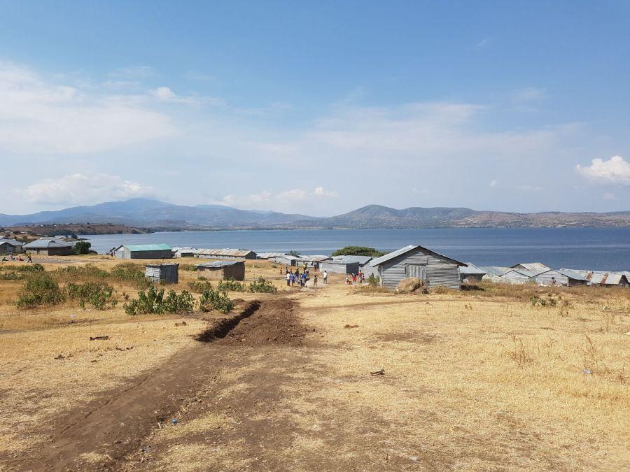 View of Kiwa Island looking towards the Lake