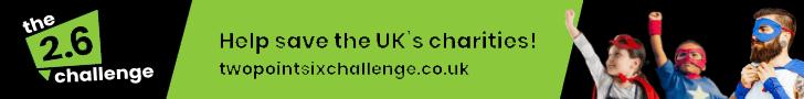 help save the uk's charities - the 2.6 challenge