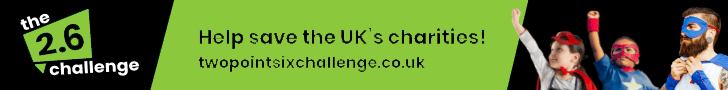 help save the uk's charities - the 2.6 challenge