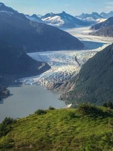 Mendenhall Glacier from Thunder Mountain