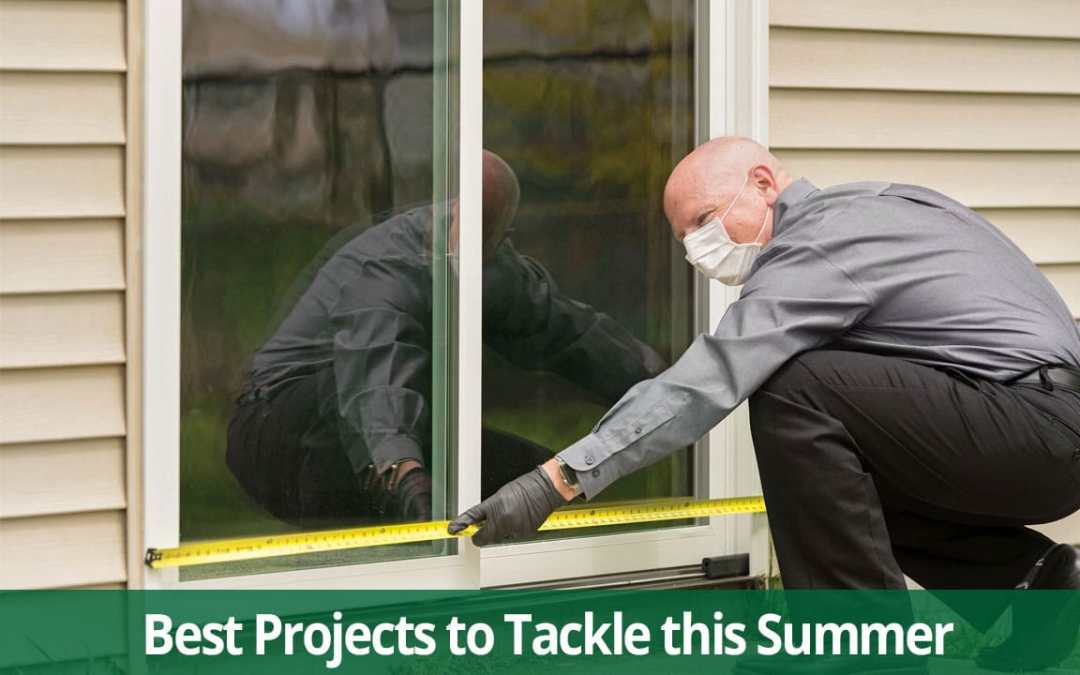 best summer home improvement projects