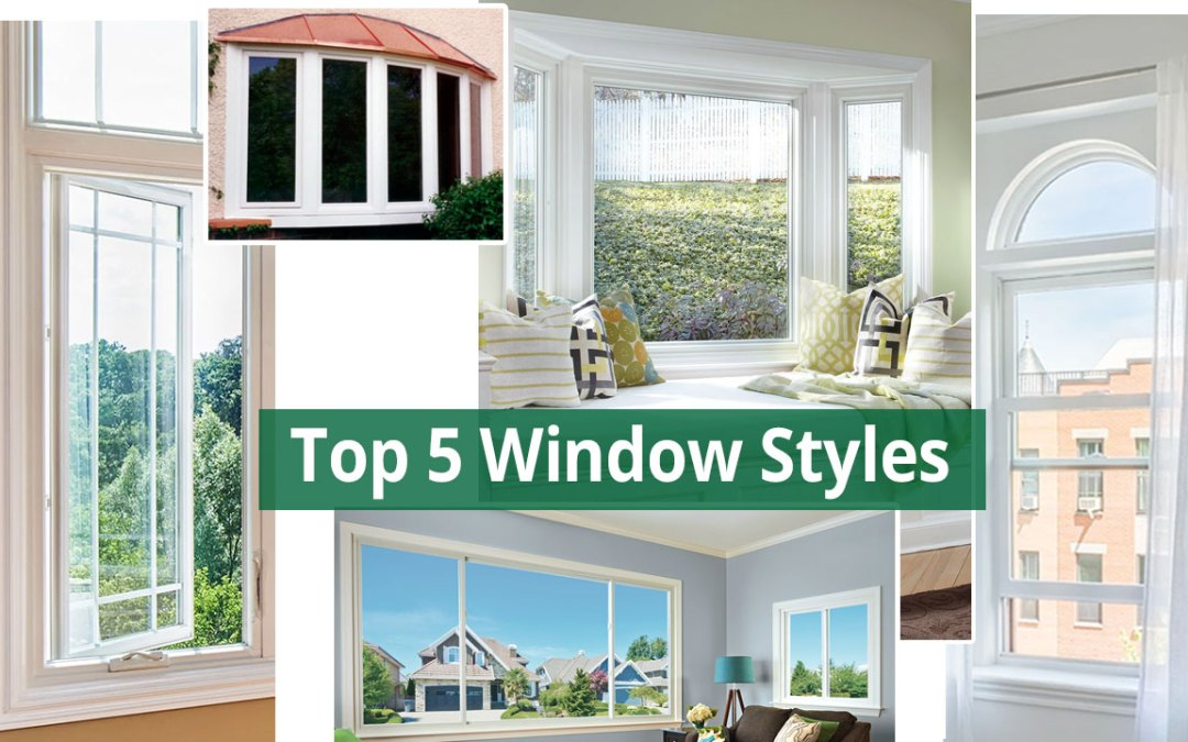 top 5 replacement window styles