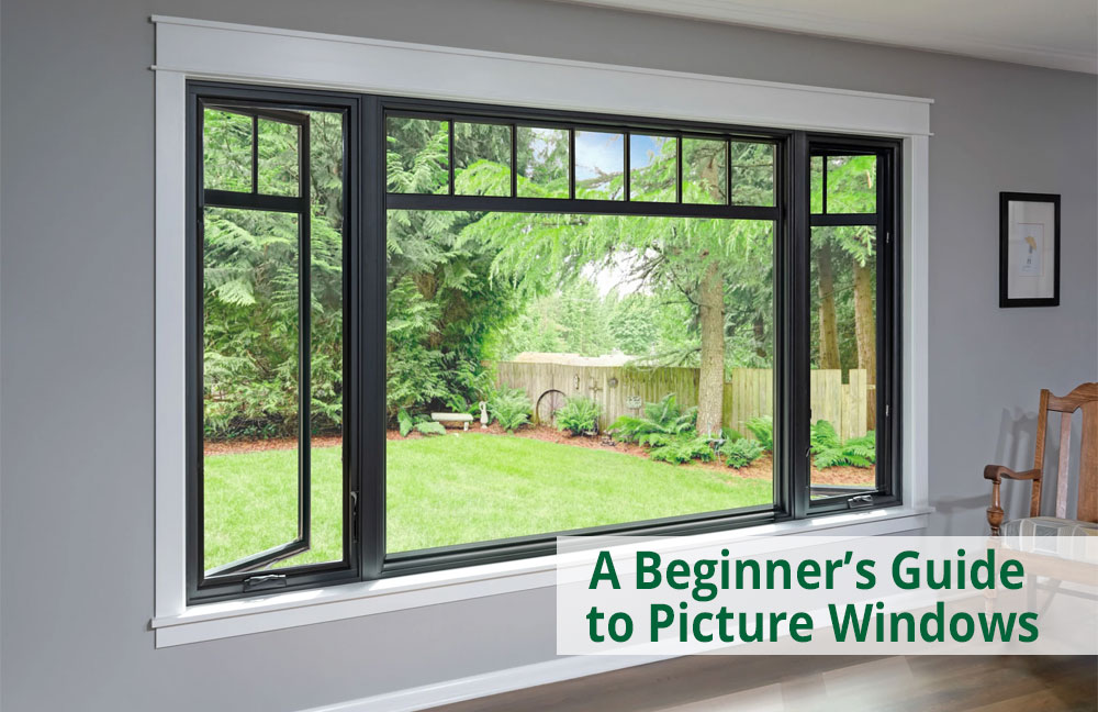 replacement picture window guide