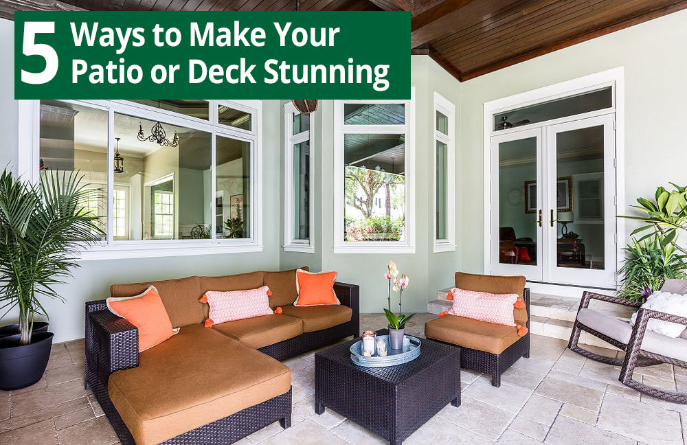 5 Ways to Make Your Patio or Deck Stunning