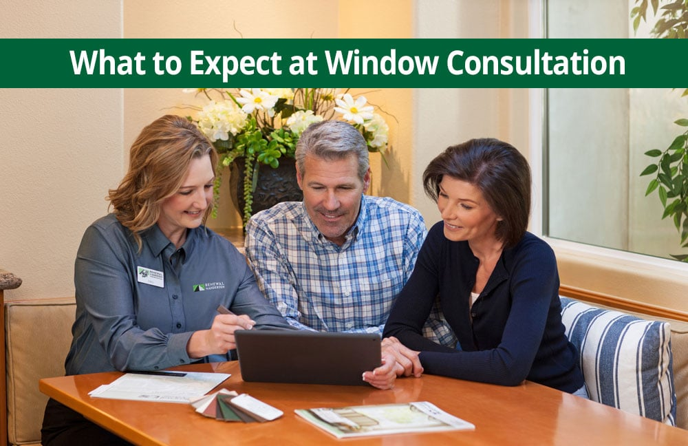 What to expect at replacement window estimate