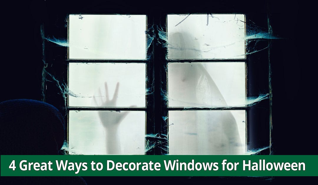4 Great Ways to Decorate Windows for Halloween on Long Island