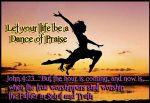 I Dance of praise