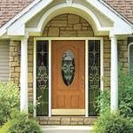 Beautiful entry door replacement Central North Carolina