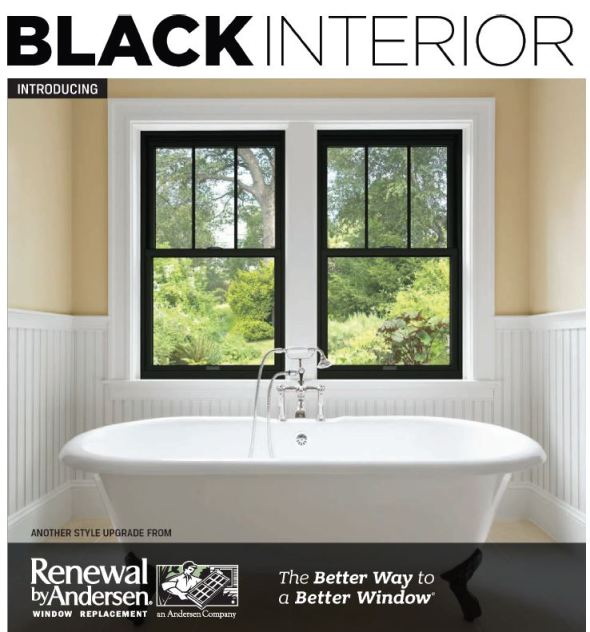 New Black Interior Options Now Available Awesome Replacement Bathroom Window Style
