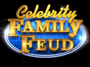 Celebrity Family Feud, a primetime celebrity version of Family Feud, is based on one of television's most popular and enduring game show formats. The six-episode special series will feature fan-favorite celebrities competing with their families for charity on the famous stage of Family Feud. Hosted by the highly popular multi-hyphenate standup comedian, actor, author, deejay and Emmy Award-winning talk show host Steve Harvey, Celebrity Family Feud will pit celebrities against each other in a contest to name the most popular responses to a survey-type question posed to 100 people.