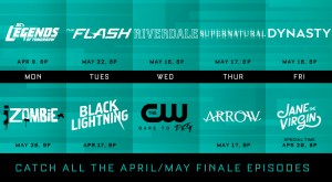 "CW 2018 Season/Series Finale Dates – Dynasty, The Flash, Riverdale & More<span class=""rating-result after_title mr-filter rating-result-90764"" >			<span class=""no-rating-results-text"">No ratings yet!</span>		</span>"