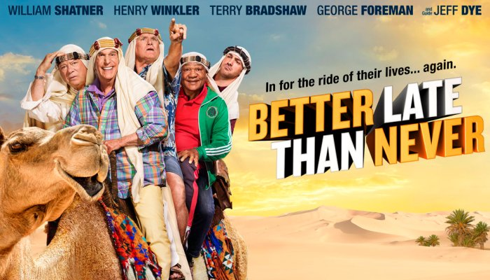 Better Late Than Never Cancelled on NBC