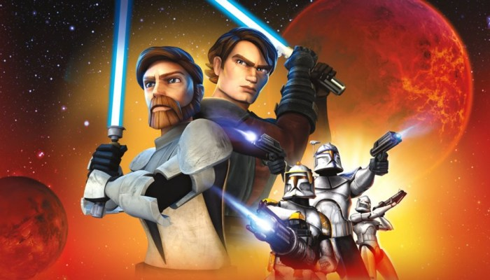 Star Wars: The Clone Wars Revived on Disney Streaming Service