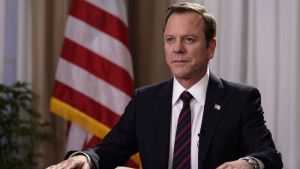"Designated Survivor: Season Three; Netflix Saves Cancelled ABC TV Show<span class=""rating-result after_title mr-filter rating-result-97449"" >	<span class=""mr-star-rating"">			    <i class=""fa fa-star mr-star-full""></i>	    	    <i class=""fa fa-star mr-star-full""></i>	    	    <i class=""fa fa-star mr-star-full""></i>	    	    <i class=""fa fa-star mr-star-full""></i>	    	    <i class=""fa fa-star mr-star-full""></i>	    </span><span class=""star-result"">	5/5</span>			<span class=""count"">				(2)			</span>			</span>"